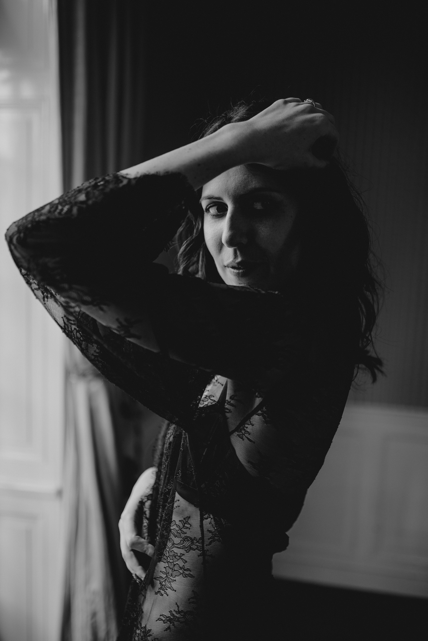 Charlotte Boudoir Session Nantes - Anne Letournel Photographies