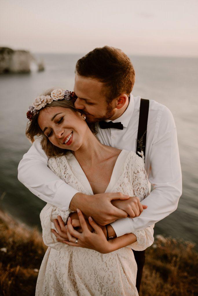 Mariage en Normandie à Etretat