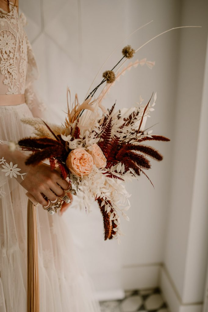 Shooting collection dress bride Anne Letournel