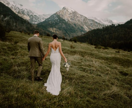 elopement Bavière mariage montagne Anne Letournel