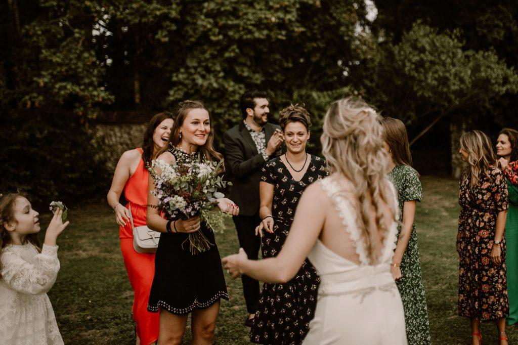 lancé bouquet mariage paris