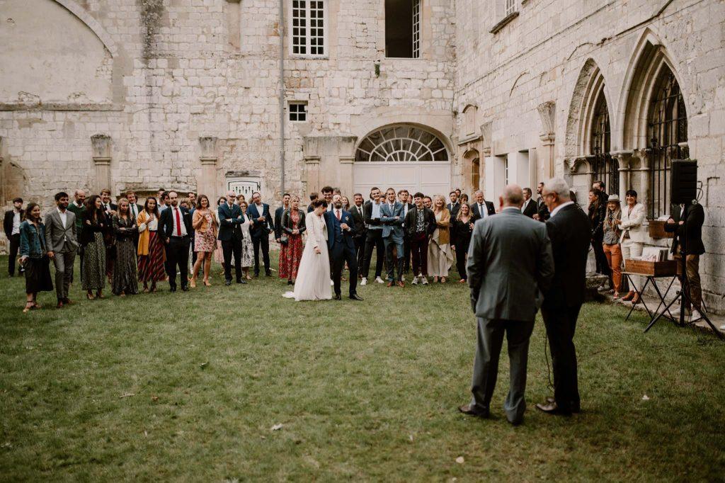 mariage abbaye notre dame de bon port