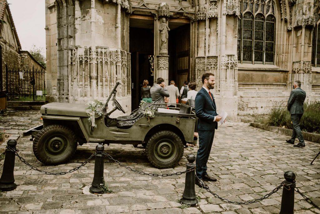 mariage église pont de l'arche