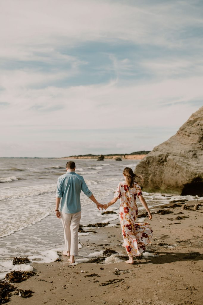 seance photos couple plage Loire Atlantique