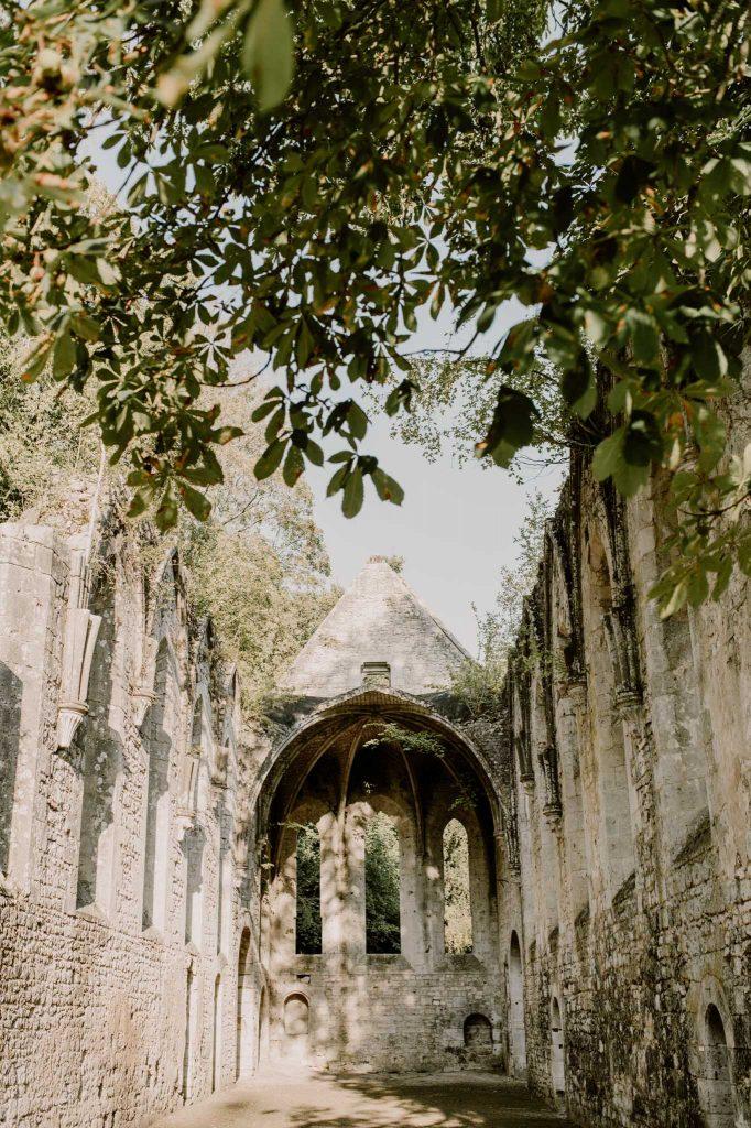 Mariage abbaye fontaine guérard