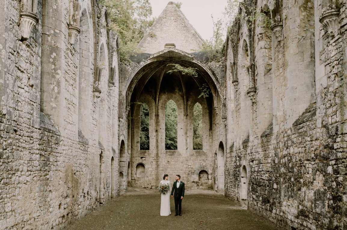 Mariage normandie abbaye fontaine guérard